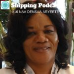 Naa Densua Aryeetey, Head of Shippers Service at the Ghana Shippers' Authority