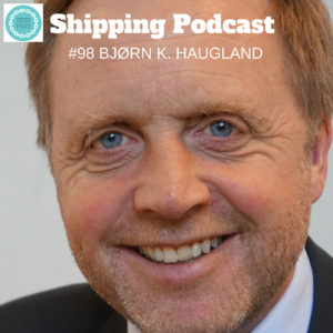 Bjørn K. Haugland, Executive Vice President and the Chief Sustainability Officer (CSO) in <a href=